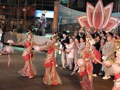 Korea 2003 - Buddha's Birthday 09 (timcoop) Tags: 2003 geotagged buddha south olympus korea seoul geotag insadong buddhasbirthday lotuslanternfestival c2100uz