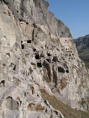 Georgia, Vardzia - Cave monastery