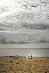 Se acab el verano (hoskitar) Tags: sea beach water clouds mar sand agua calafell playa arena nubes catalunya nublado tarragona abandonado solitud exploracalafell exploracalafell09