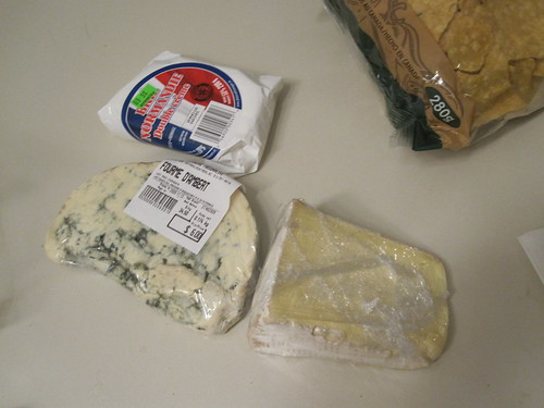 Cheeses from Marché Maisonneuve - $17.30