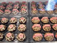 Animal Print Cupcakes (death by cupcake) Tags: birthday by death cupcakes baking cupcake leopard zebra giraffe fondant deadcupcake deathbycupcake thecupcaketower jennifermcfadden