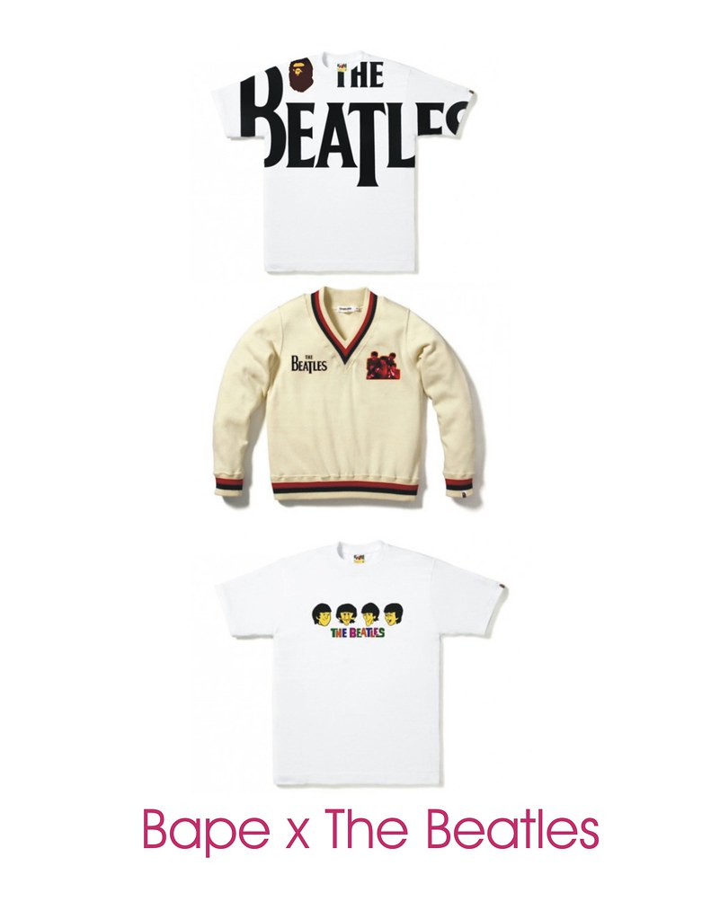 Bape x The Beatles