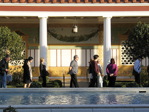 Getty Villa colonnade