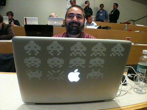 I vote @mikemonello for Best Laptop Lid Theme evar  #foe4