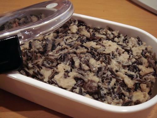 Almond Wild Rice Porridge