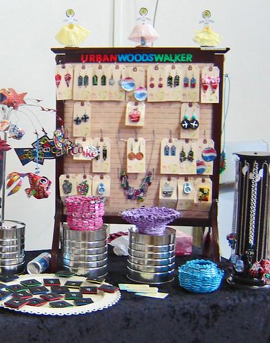 DIY Trunk Show Nov 2009 ~ Booth Display