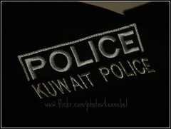 POLICE (KenneBell ) Tags: logo nikon police kuwait     l100