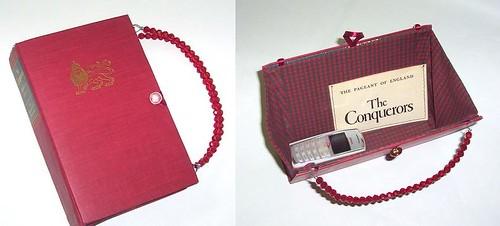 book cover purses