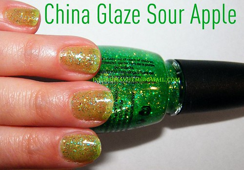 China Glaze Sour Apple