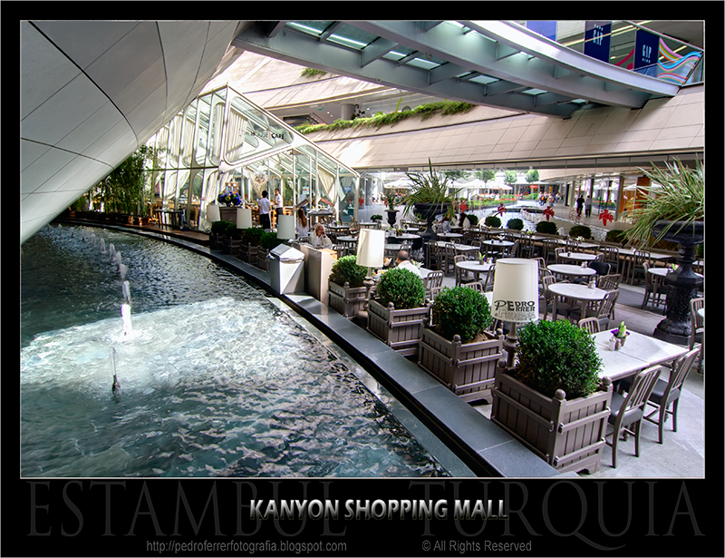 Centro Comercial Kanyon Estambul - 15