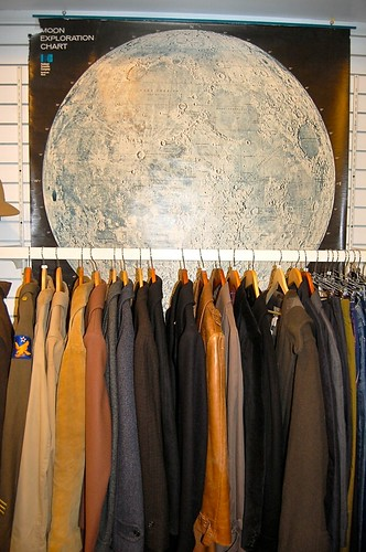 Moon over men's jackets