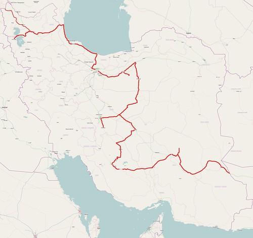 OSM Iran complete