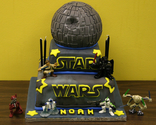 Star Wars Death Star Birthday Cake