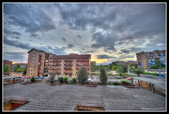 From my Balcony HDR ( YariGhidone ) Tags: sunset sky sun set torino high nikon ranger tramonto foto photographer shot angle wide wideangle pic nikkor sole turin hdr controluce ligh dinamic yari mirafiori 1424 d700 nikond700 ghidone yarighidone