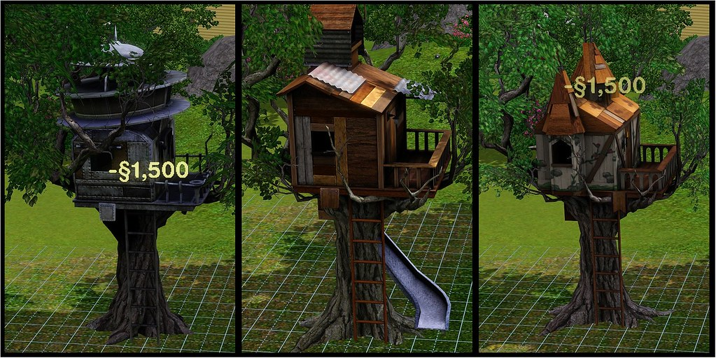Tree Houses Sims 3 Generations