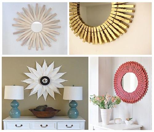 Sunburst Mirror Ideas