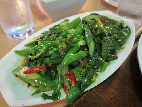 Kai Lan with Oyster Sauce and Chillies