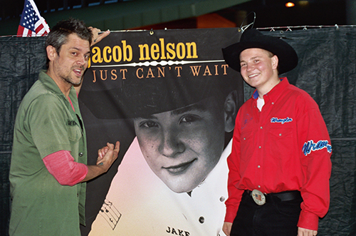 Jacob Nelson and Johnny Knoxville