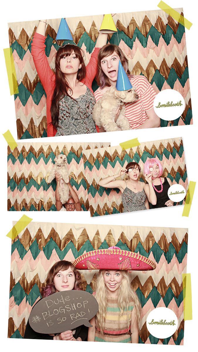 Blogshop: smilebooth