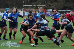 Blues U18s v Dragons U18s xIMG_6160 (Penallta Photographics) Tags: dragonsladies dragonsu18s bluesladies bluesu18s rugby womensrugby rugbyunion wru sardisroad regional wearewaleswomen pontyriddrfc 3g wales sport game pitch tackle