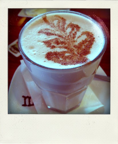 chai latte (poladroid)