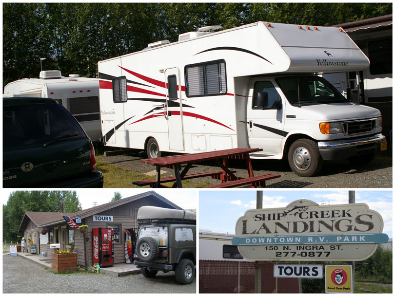 Ship Creek Landings RV Park