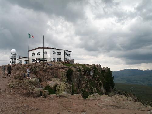 Das Rittner Horn Schutzhaus (2.270 m)