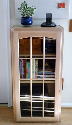 Kitchen Cabinet Bookshelf