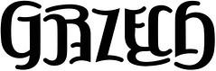"""""""Grzech"""" Ambigram"""