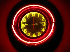 Neon Clock (jeffs4653) Tags: clock theater neon lafayette suffern lafayettetheater