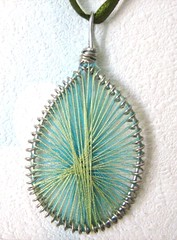 green string-pendant