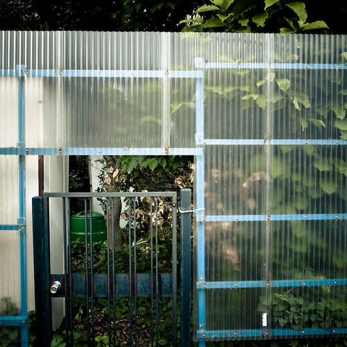 Plastic Fence with little Gate