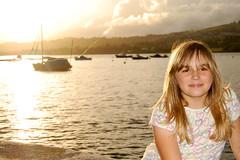 Eleasha. (Ryan Bradley.) Tags: sunset holiday water yellow landscape boats photography nikon warm harbour ellie devon valley resturant dawlish shaldon d40 eleasha