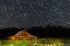 Star Storm (James Neeley) Tags: nightphotography lightpainting landscape bravo grandtetons tetons startrails grandtetonnationalpark gtnp mormonrow antelopeflats moultonbarn jamesneeley flickr12