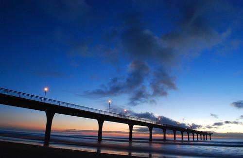 Sunrise at New Brighton....