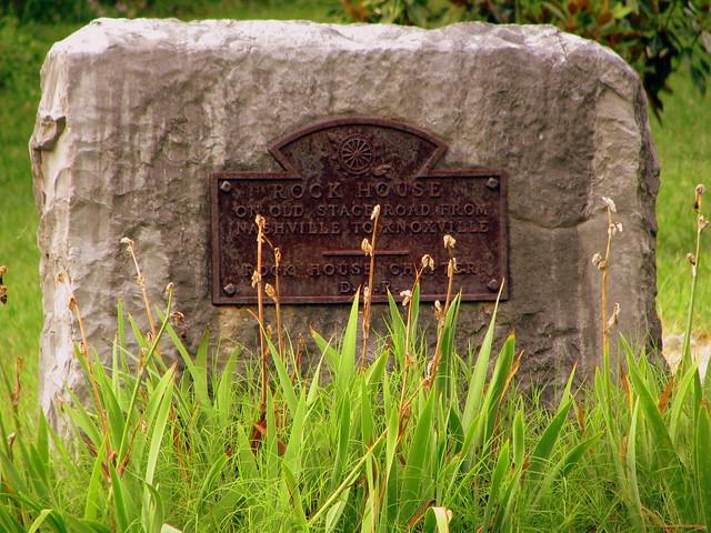 Rock House DAR marker