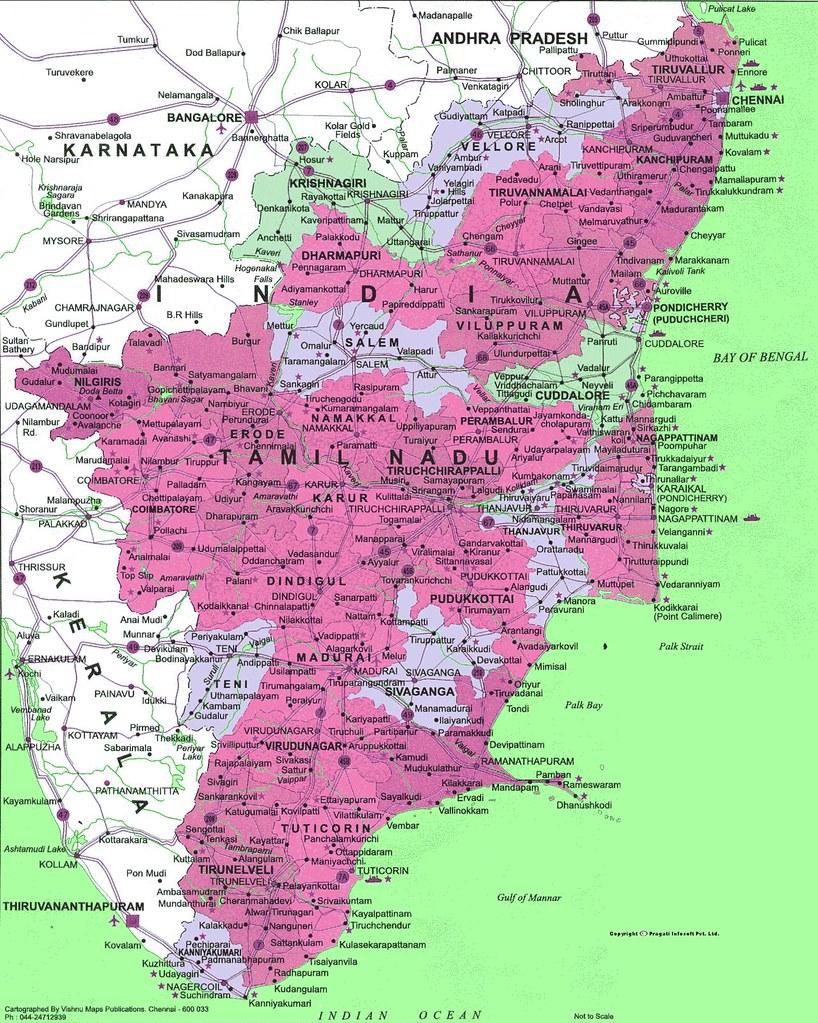 Telgiya Malayalam Mp3 Songs Download Links: Political Map of Tamil