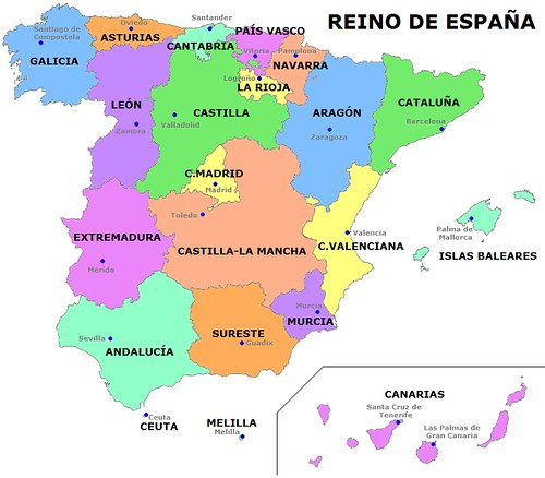 Lingua Spagnola di Región del Sureste