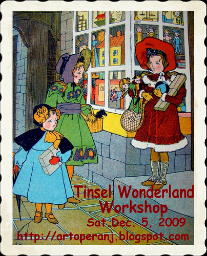 Tinsel Wonderland Workshop