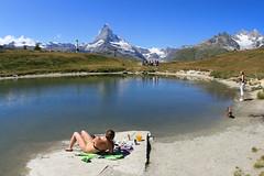 Leisee, Zermatt (meder.k) Tags: lake alps switzerland zermatt matterhorn leisee 2009top10
