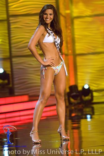Miss Paraguay 2009 Mareike Baumgarten Oroa in BSC Swimwear