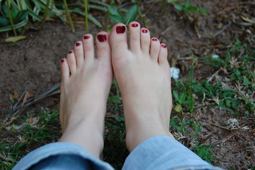 my pedicure