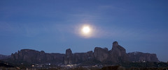 Meteora (Prodromos Sarigianis) Tags: moon landscape unescoworldheritagesite greece rockformation kalambaka monasteries 1755mmf28d