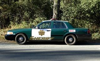 Santa Cruz Sheriff's Car