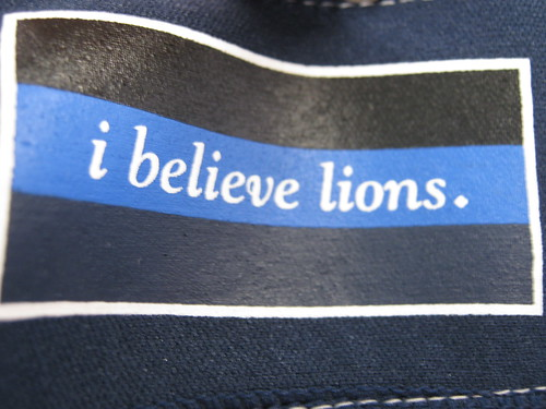 i believe lions was printed on the interior of the Lions jersey I bought.