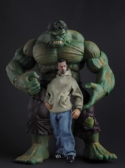 I Am Hulk (PowerPee) Tags: toys philippines hulk marvel collectibles edwardnorton theotherside brucebanner 16thscale nikond700