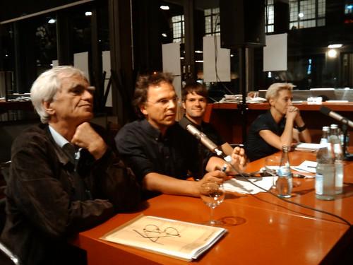 beim #kiezduell zwischen #stroebele @halina_waw @boehningb  direktkandidaten #friedrichshain