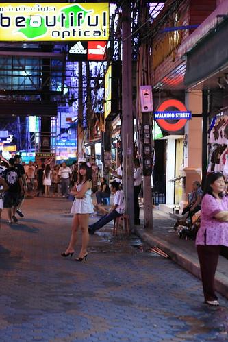 pattaya walking street. Walking Street in Pattaya