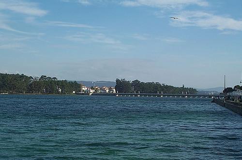 Vista de la Isla de La Toja, Pontevedra