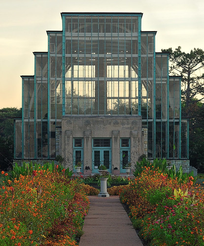 The Jewel Box, in Forest Park, Saint Louis, Missouri, USA